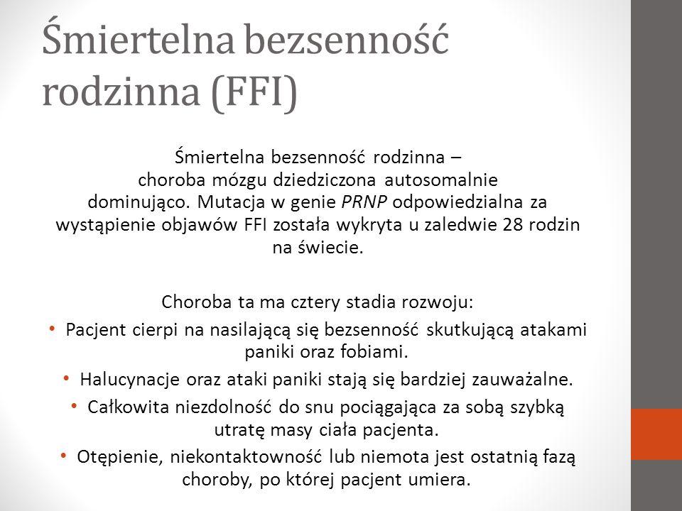 Śmiertelna bezsenność rodzinna (FFI)