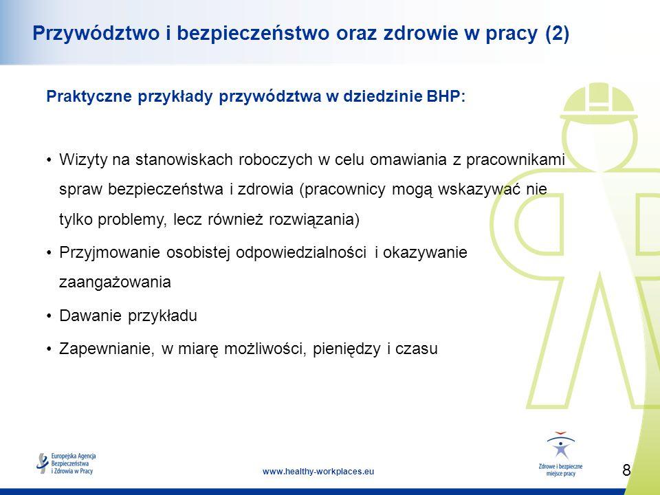 Przywództwo i bezpieczeństwo oraz zdrowie w pracy (2)