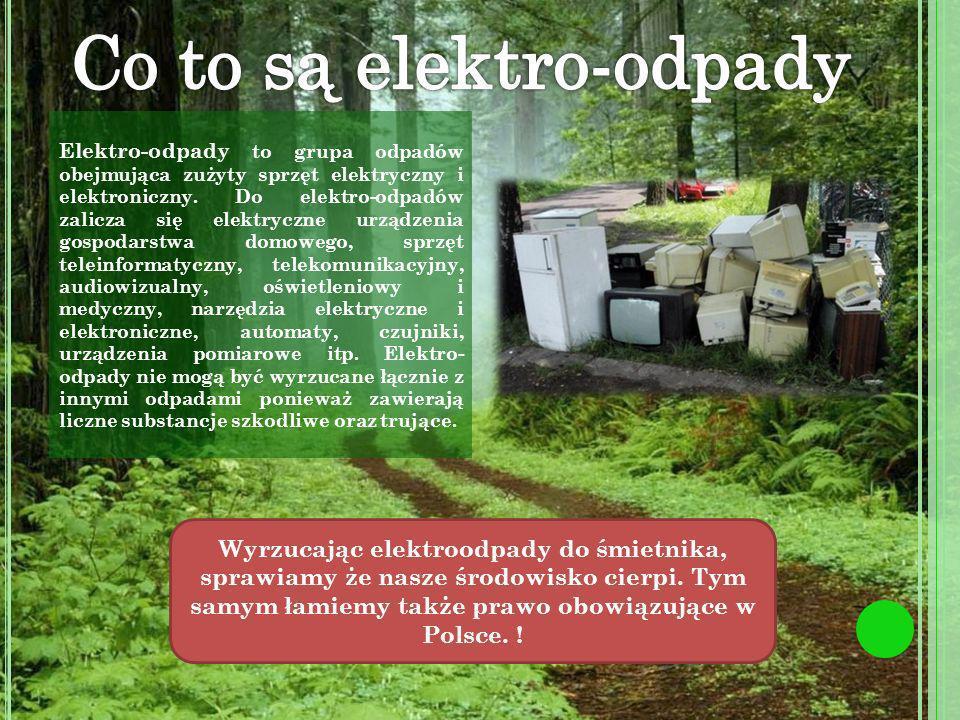 Co to są elektro-odpady