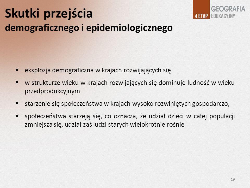 Skutki przejścia demograficznego i epidemiologicznego