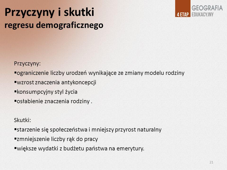 Przyczyny i skutki regresu demograficznego