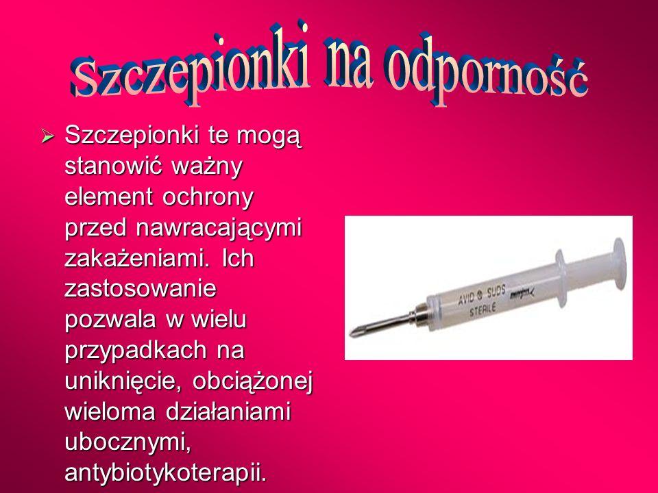 Szczepionki na odporność
