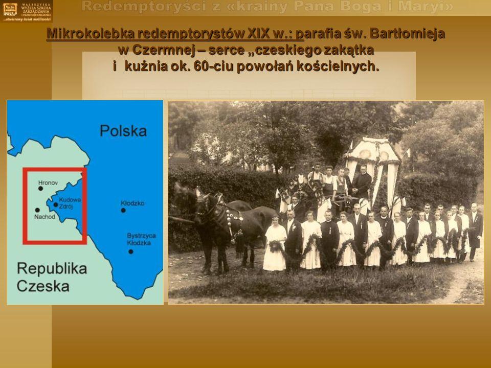 Mikrokolebka redemptorystów XIX w. : parafia św
