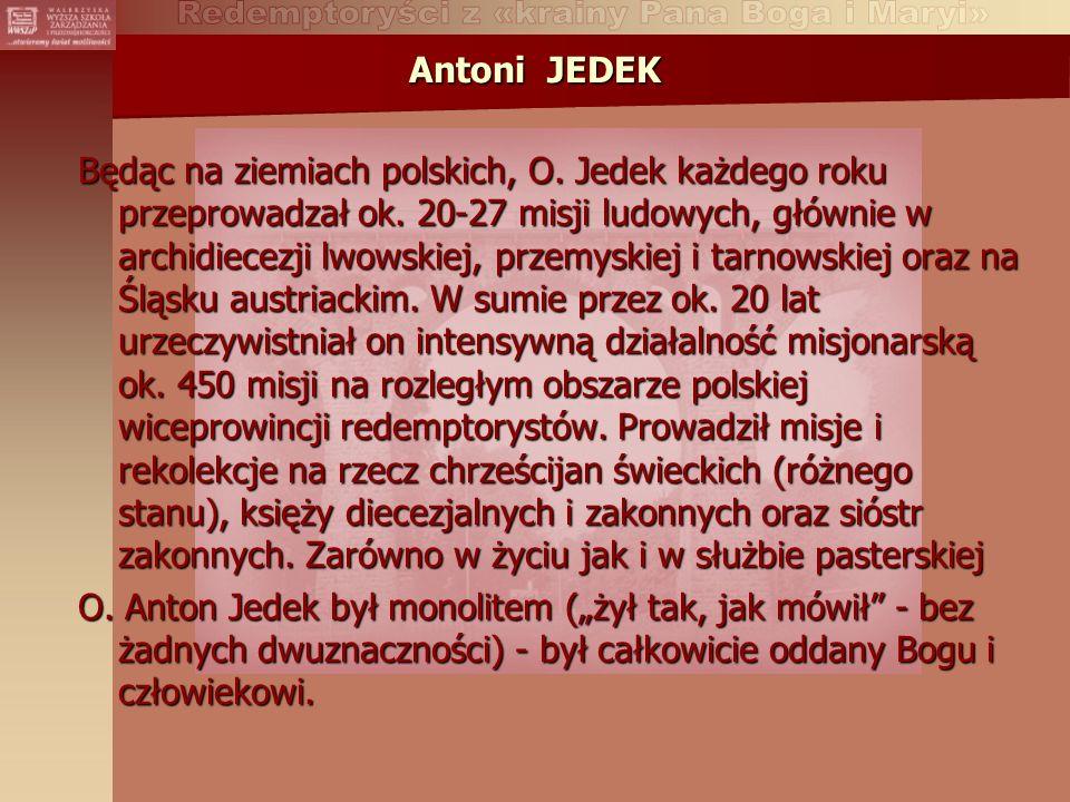 Antoni JEDEK