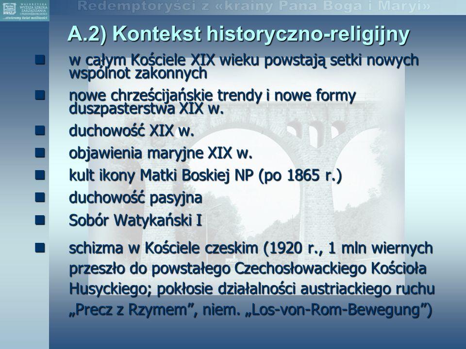 A.2) Kontekst historyczno-religijny