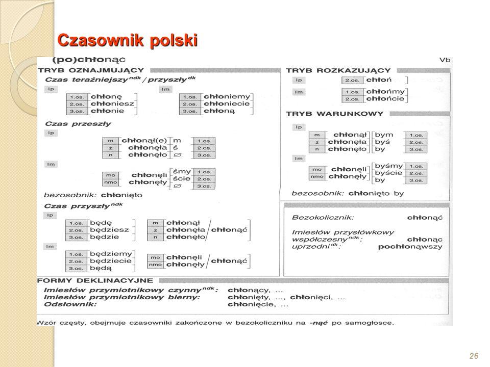Czasownik polski
