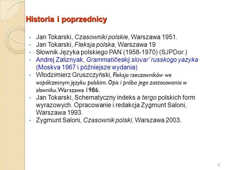 Historia i poprzednicy