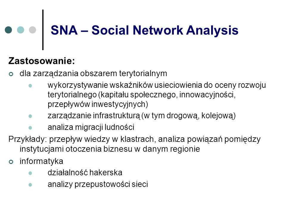 SNA – Social Network Analysis