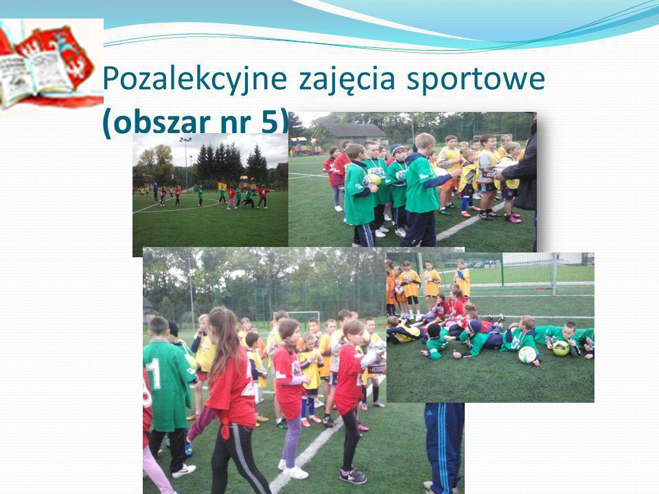 Pozalekcyjne zajęcia sportowe (obszar nr 5)