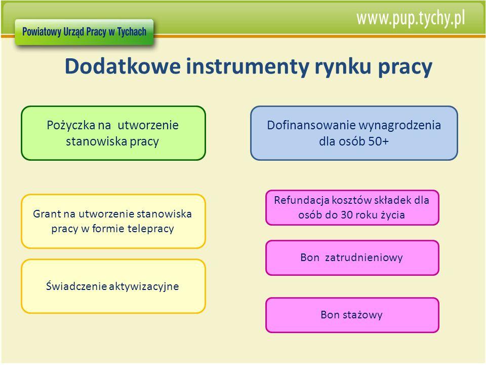 Dodatkowe instrumenty rynku pracy