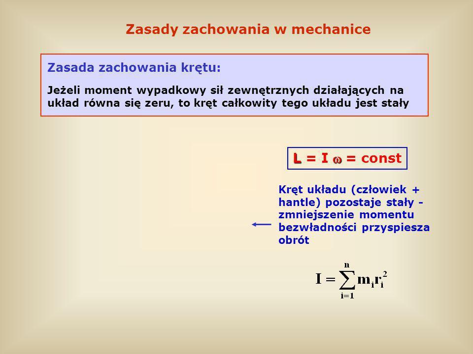 Zasady zachowania w mechanice