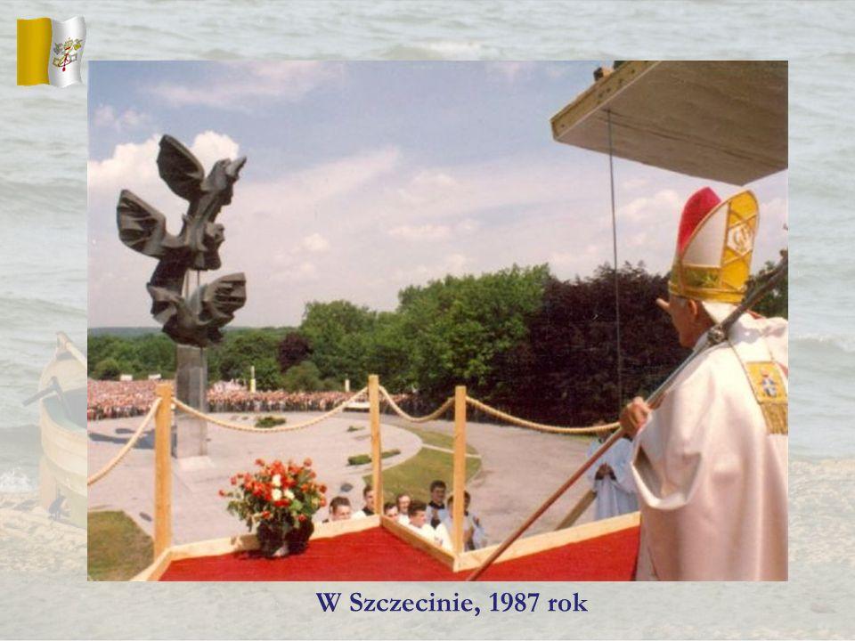 W Szczecinie, 1987 rok
