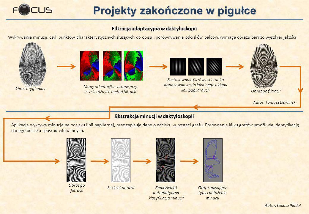 Filtracja adaptacyjna w daktyloskopii