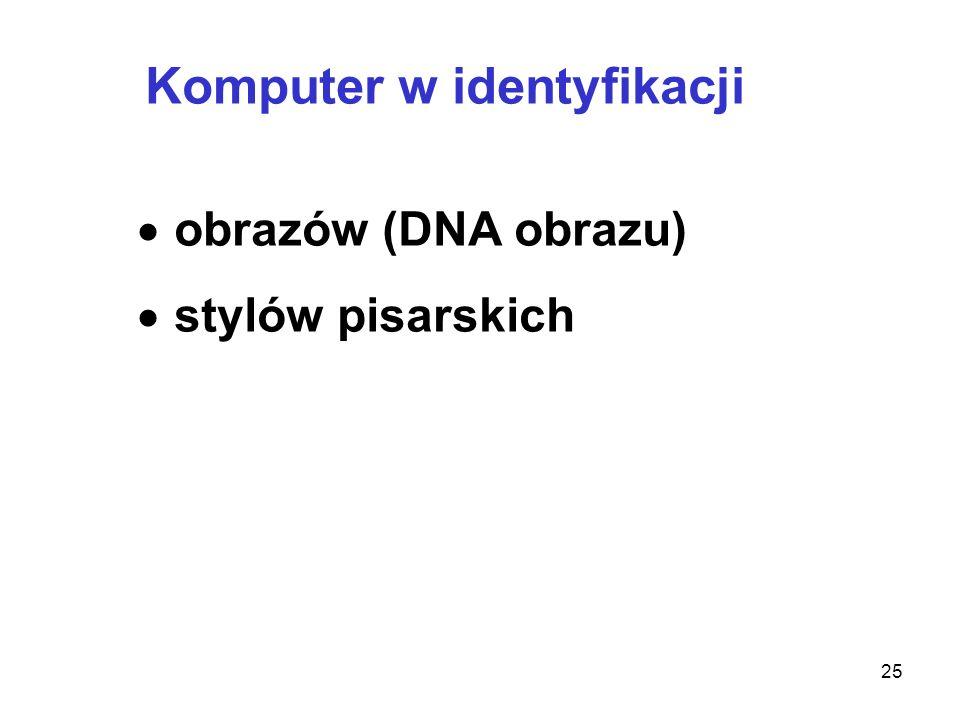 Komputer w identyfikacji