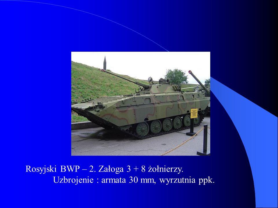 Rosyjski BWP – 2. Załoga 3 + 8 żołnierzy.