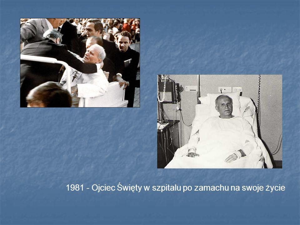 1981 - Ojciec Święty w szpitalu po zamachu na swoje życie