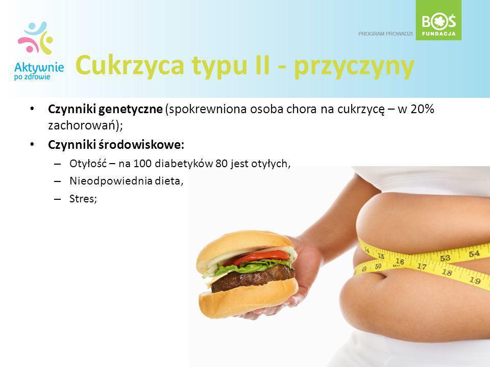 Cukrzyca typu II - przyczyny