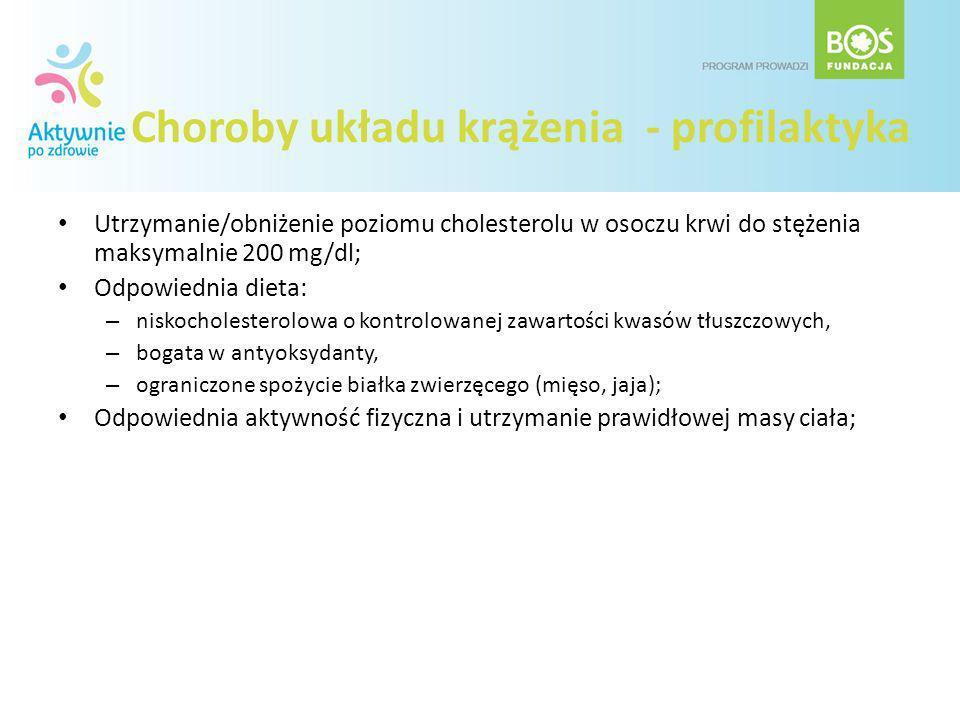 Choroby układu krążenia - profilaktyka
