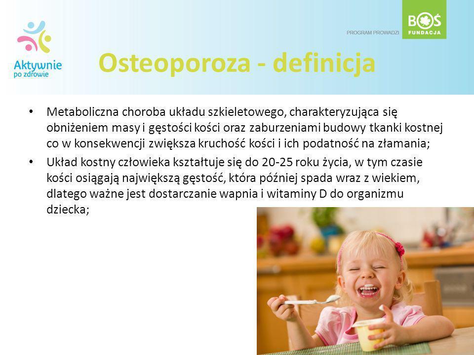 Osteoporoza - definicja