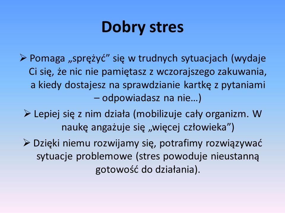 Dobry stres