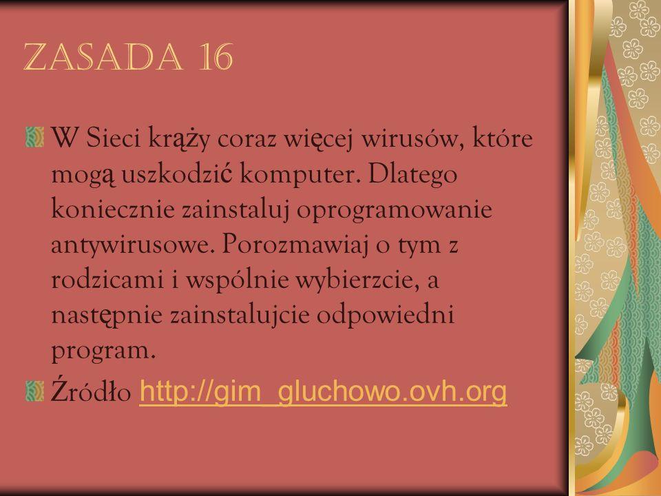 Zasada 16