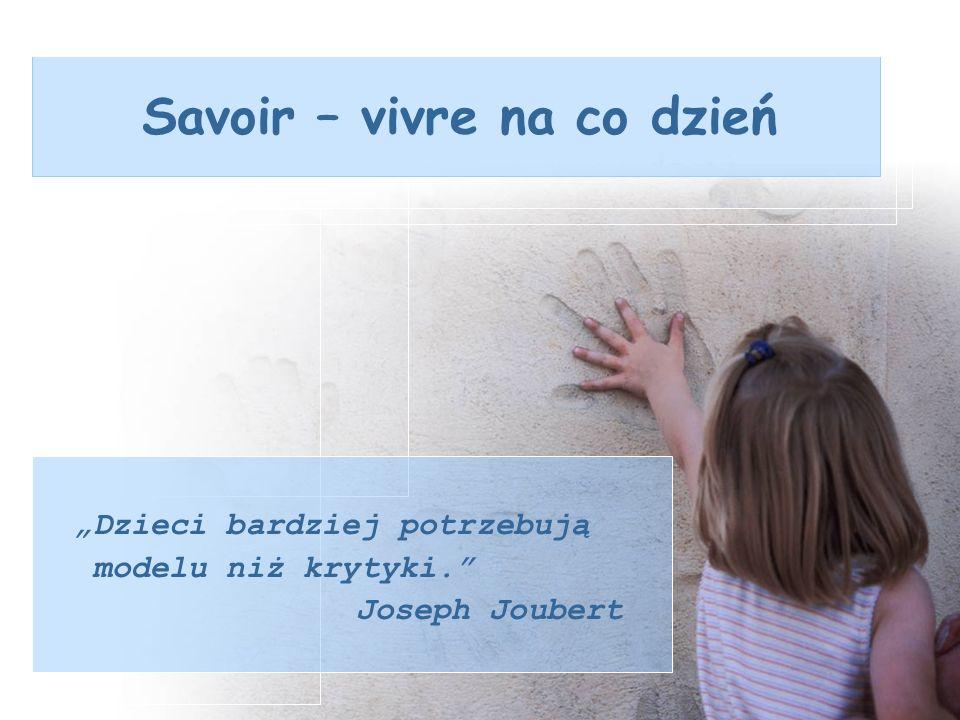 Savoir – vivre na co dzień
