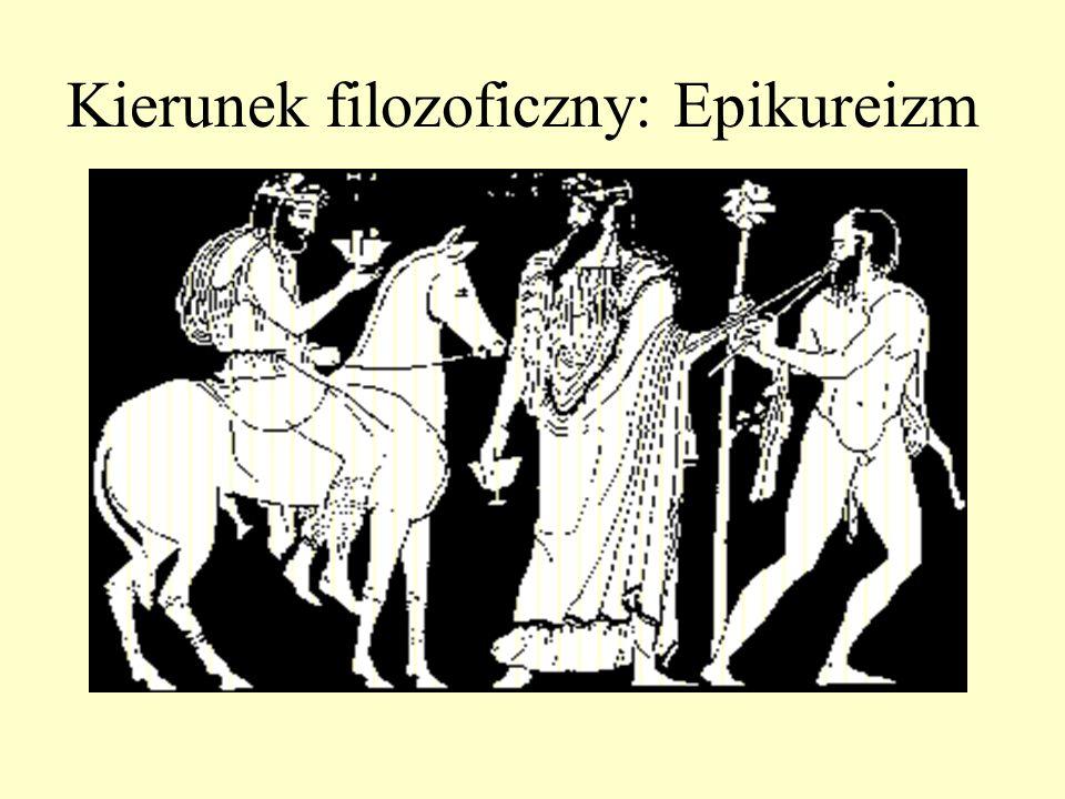 Kierunek filozoficzny: Epikureizm