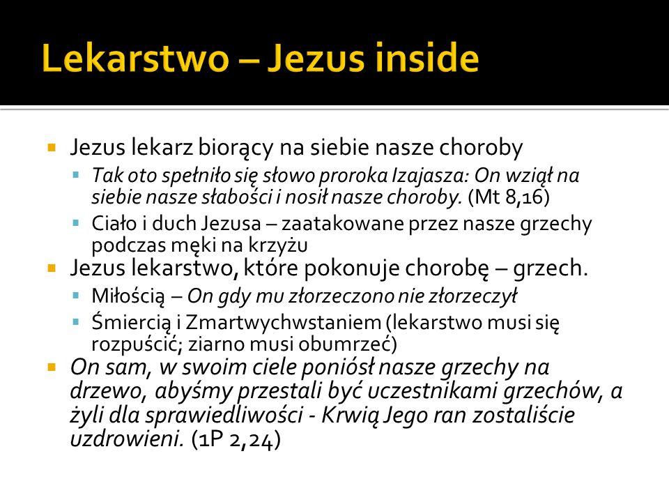 Lekarstwo – Jezus inside