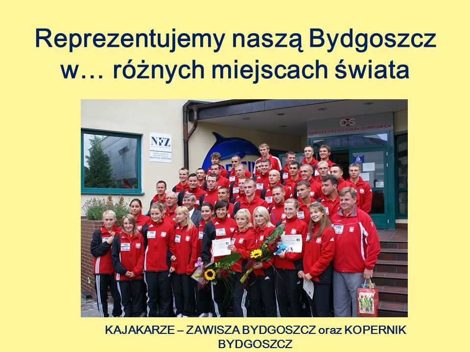 Reprezentujemy naszą Bydgoszcz w… różnych miejscach świata