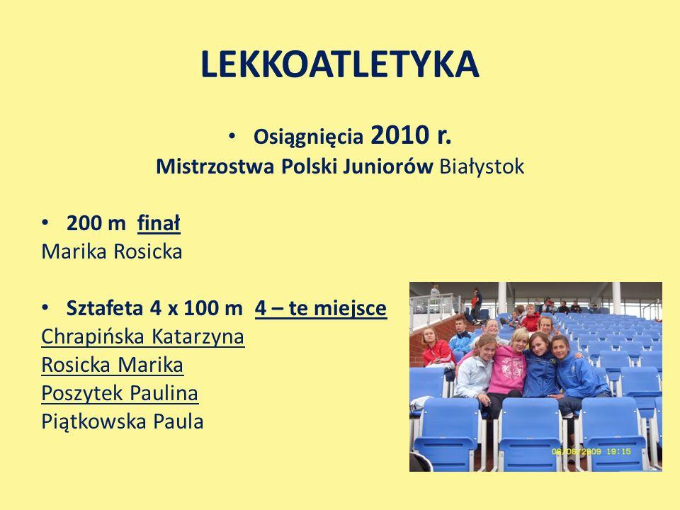 Mistrzostwa Polski Juniorów Białystok