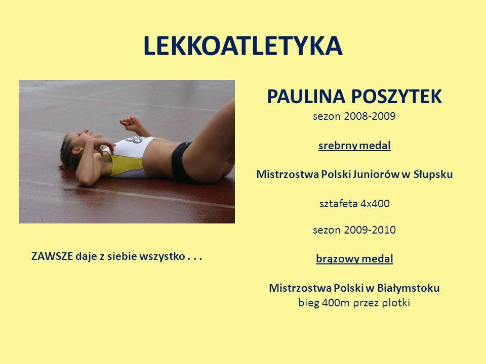 Mistrzostwa Polski Juniorów w Słupsku