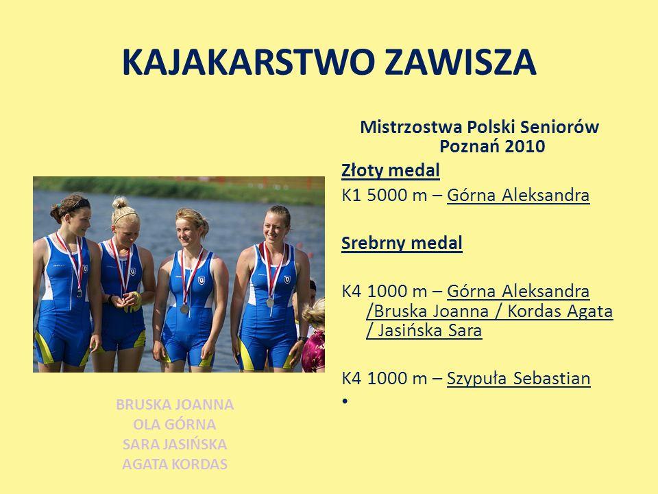 Mistrzostwa Polski Seniorów Poznań 2010