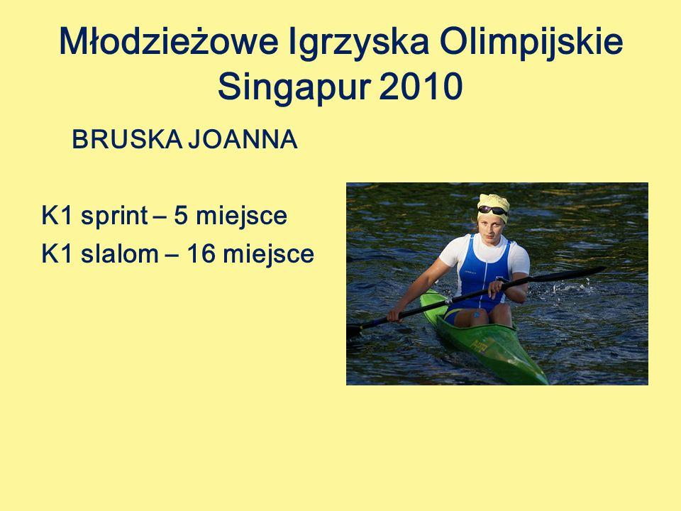 Młodzieżowe Igrzyska Olimpijskie Singapur 2010
