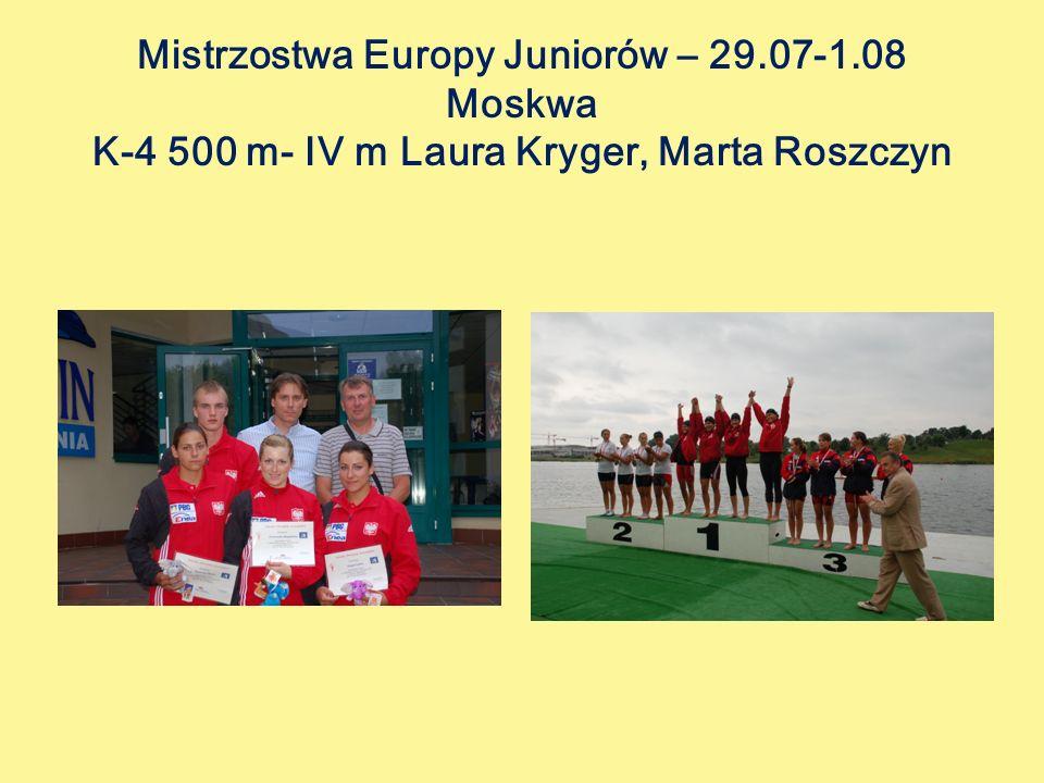 Mistrzostwa Europy Juniorów – 29. 07-1