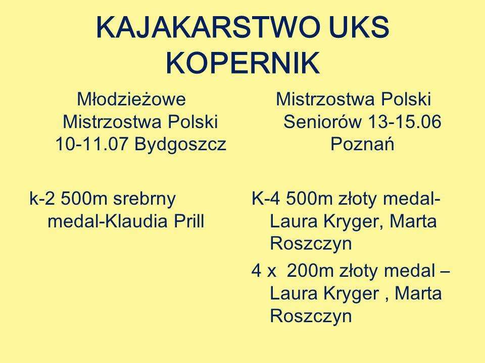 KAJAKARSTWO UKS KOPERNIK