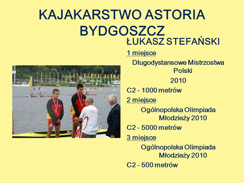 KAJAKARSTWO ASTORIA BYDGOSZCZ