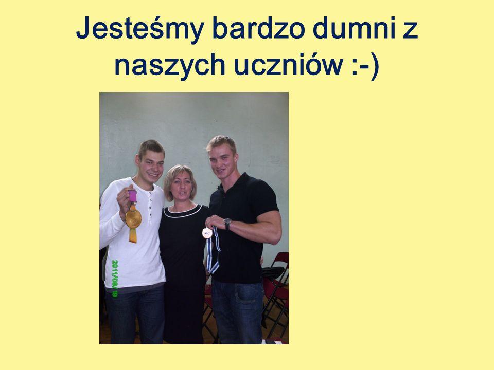 Jesteśmy bardzo dumni z naszych uczniów :-)