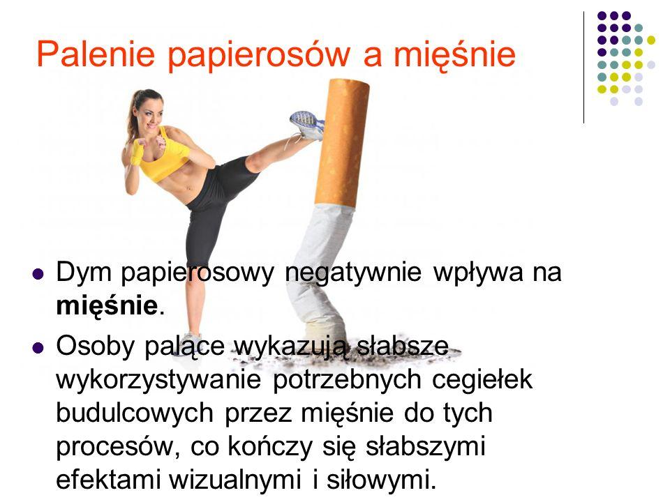 Palenie papierosów a mięśnie