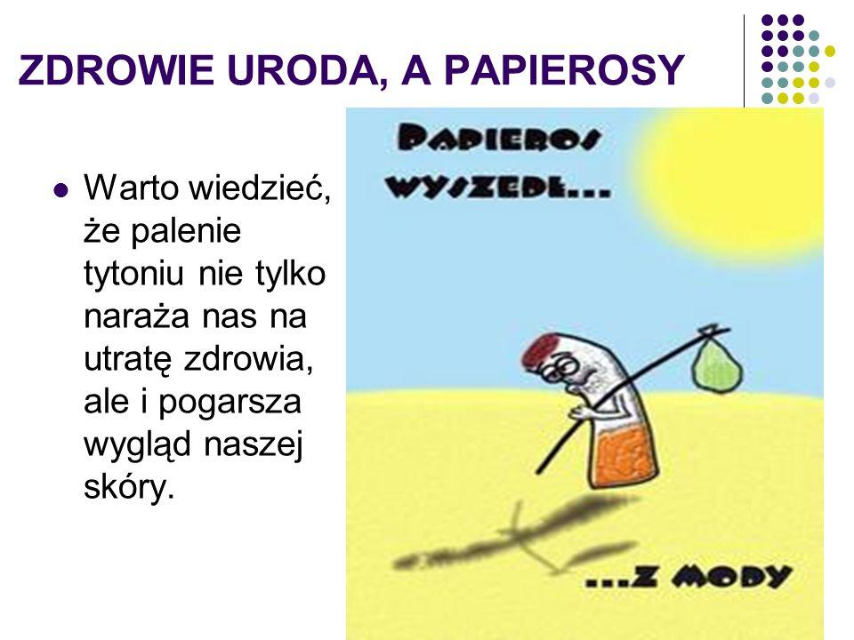 ZDROWIE URODA, A PAPIEROSY