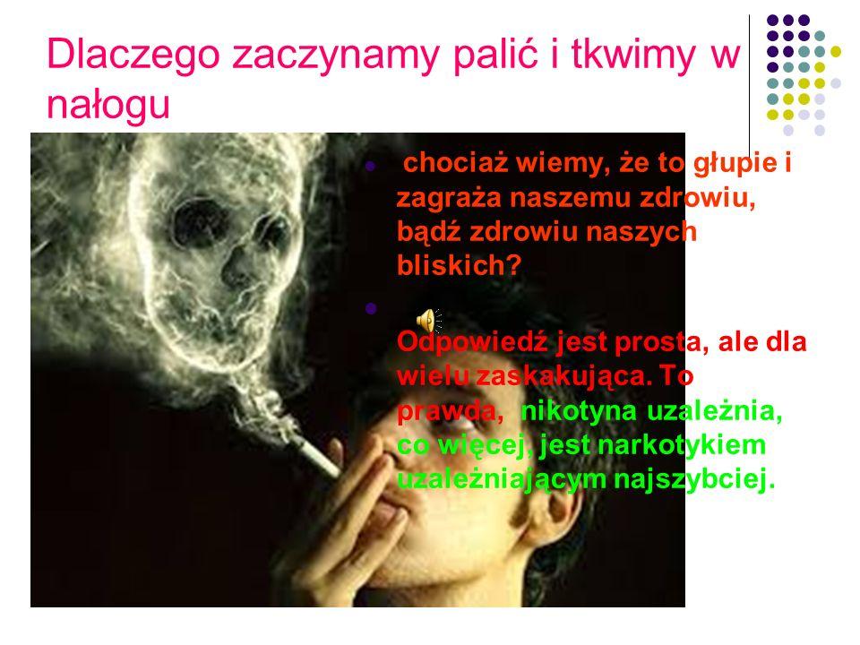 Dlaczego zaczynamy palić i tkwimy w nałogu