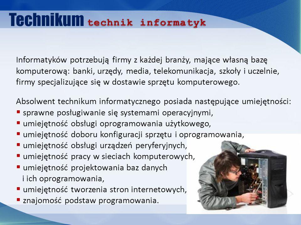 Technikum technik informatyk