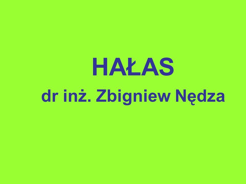 HAŁAS dr inż. Zbigniew Nędza