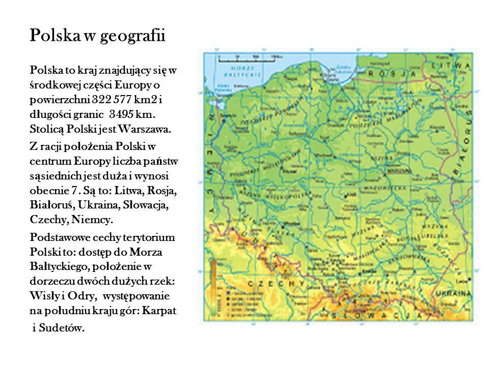 Polska w geografii