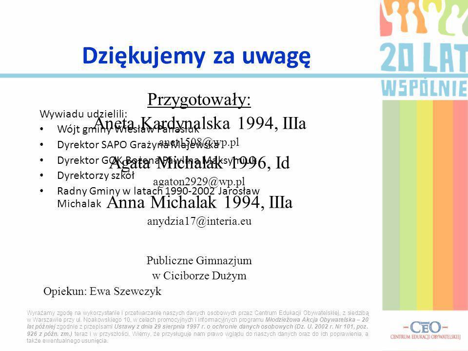 Aneta Kardynalska 1994, IIIa