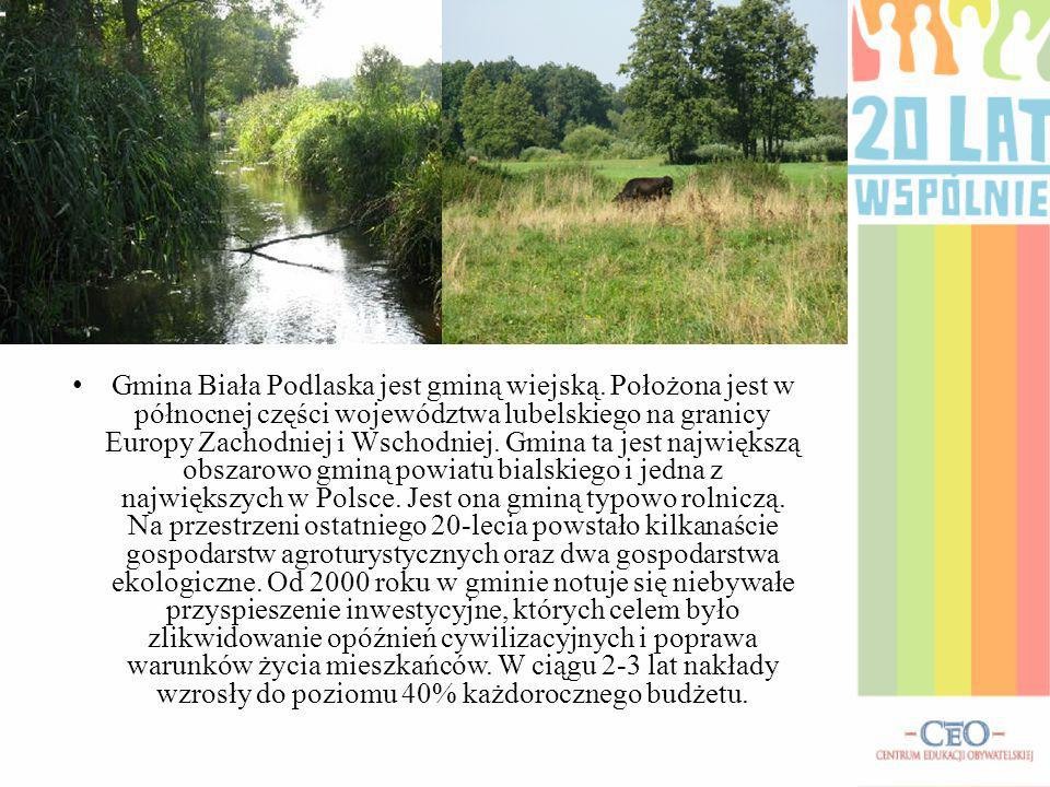 Gmina Biała Podlaska jest gminą wiejską