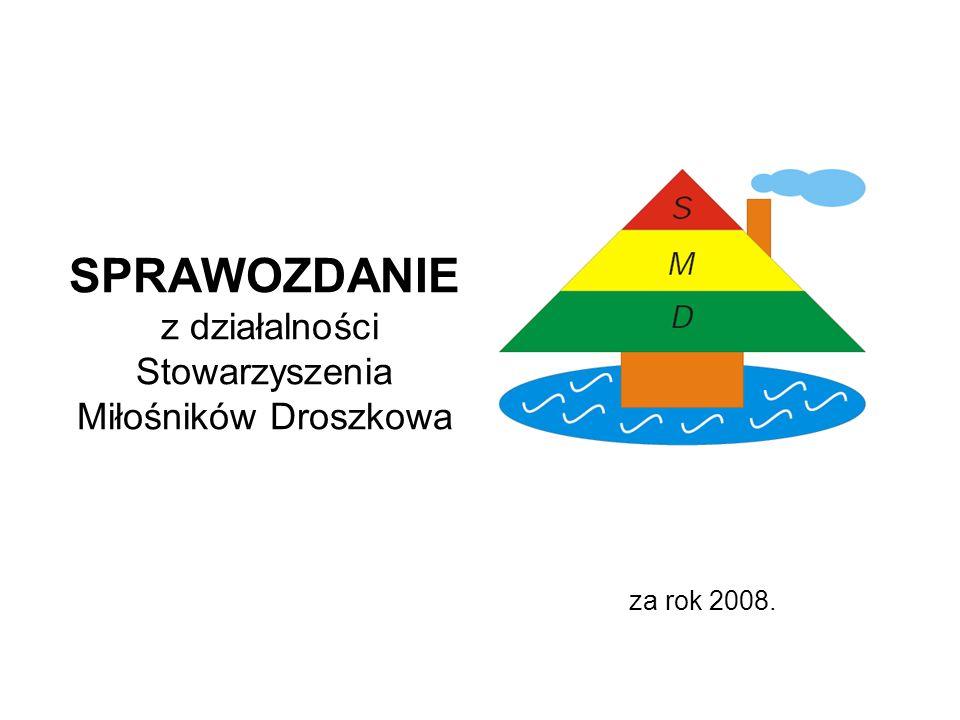 SPRAWOZDANIE z działalności Stowarzyszenia Miłośników Droszkowa