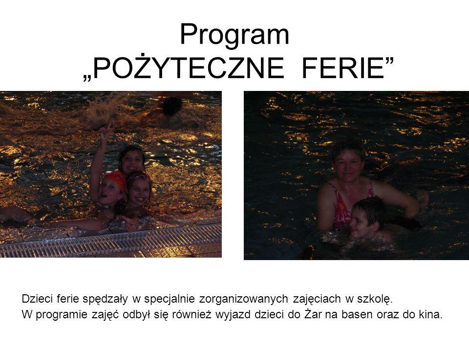 """Program """"POŻYTECZNE FERIE"""