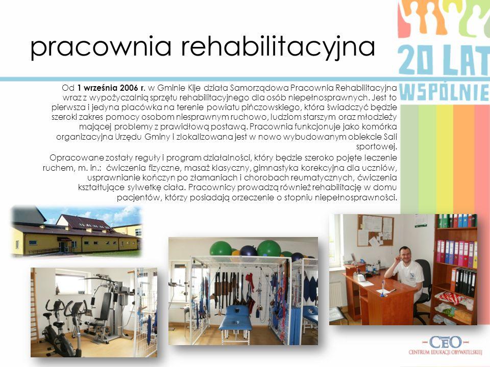 pracownia rehabilitacyjna