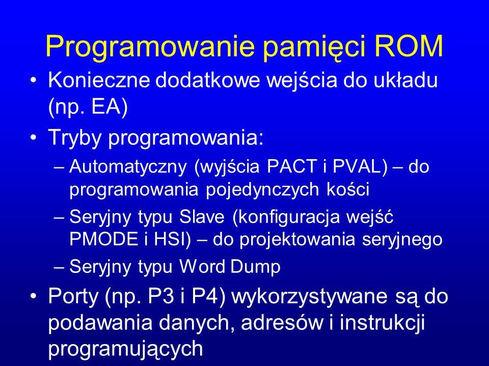 Programowanie pamięci ROM