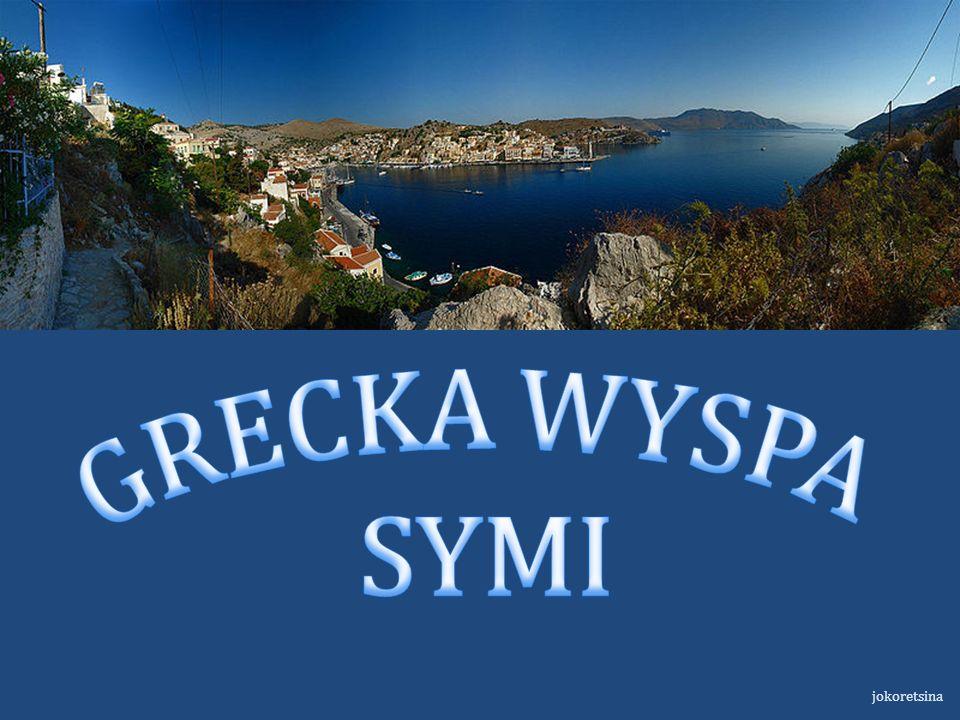 GRECKA WYSPA SYMI jokoretsina